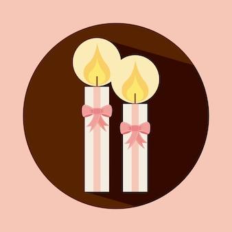 Icono de velas
