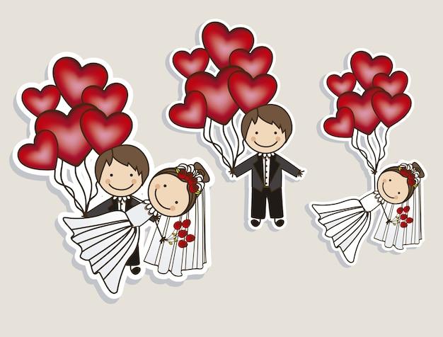 Iconos de la boda