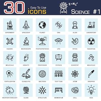 Iconos de ciencia