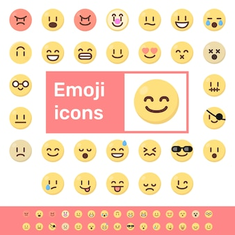 Iconos de colores emoji