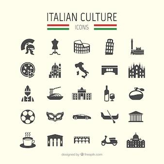 Iconos de cultura italiana