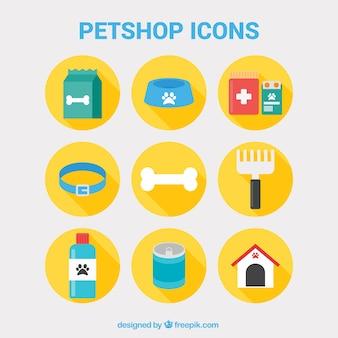 Iconos de tienda de animales