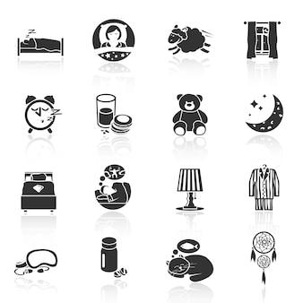 Iconos de dulces sueños
