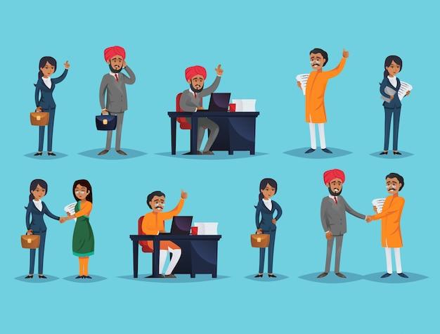 Iconos con empresarios étnicos
