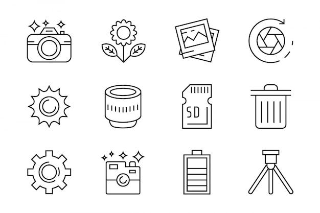 Iconos de fotografía