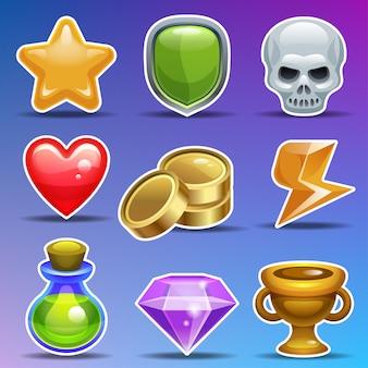 Iconos del juego