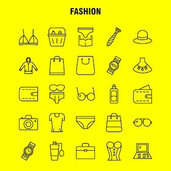 Iconos de línea de finanzas