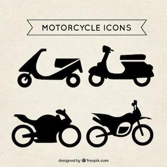 Iconos de la motocicleta