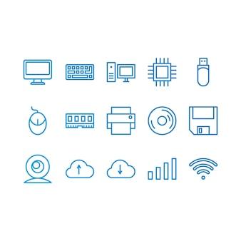 Iconos de ordenador
