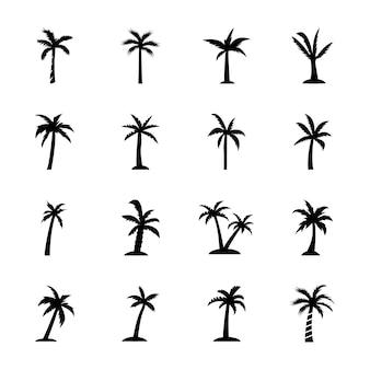 Los iconos de la palma