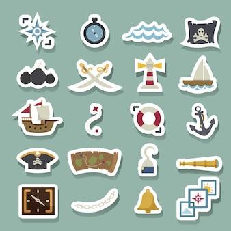 Iconos de piratas