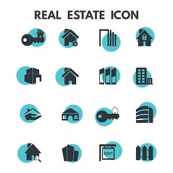 Iconos de propiedad inmueble