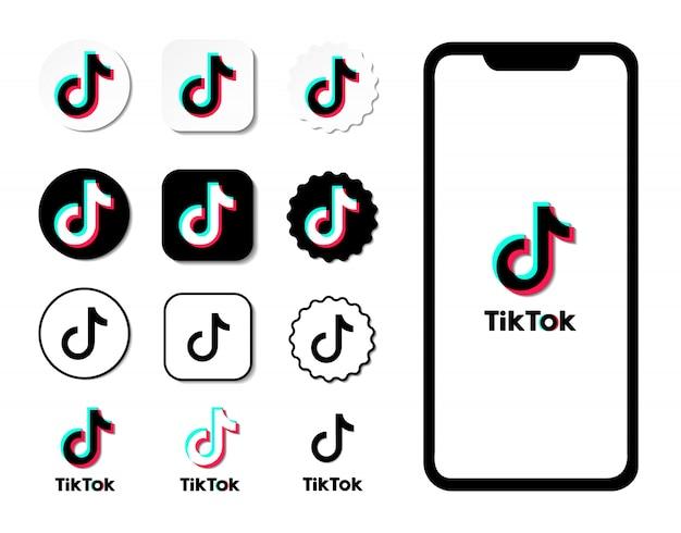 Iconos de redes sociales. logotipo de redes sociales.