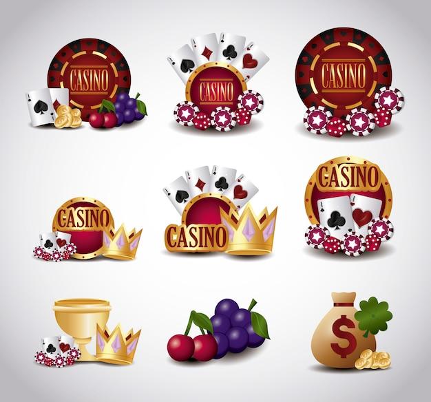 Iconos relacionados con el casino