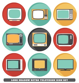 Iconos de televisión retro