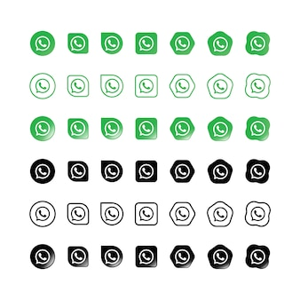 Iconos de whatsapp