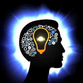 Idea en la cabeza