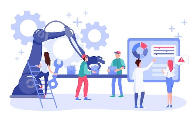 Idea de campaña de marketing por correo electrónico digital de automatización