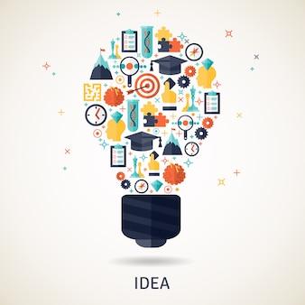 Idea concepto ilustración