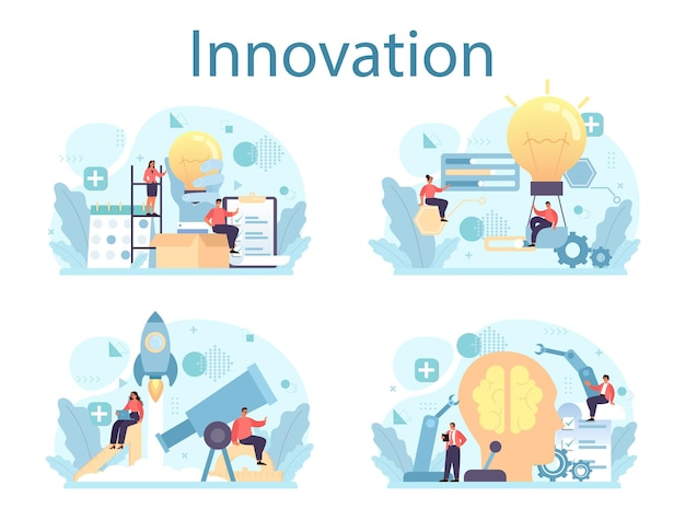 Idea de solución empresarial creativa