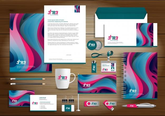 Identidad corporativa diseño de negocios