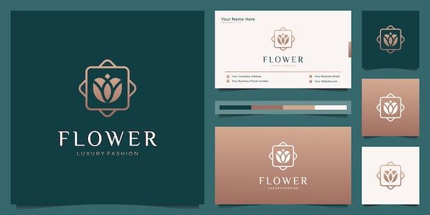 Identidad de marca y concepto de tarjeta de visita.