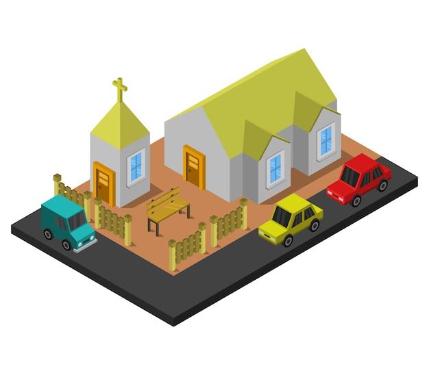 Iglesia isométrica