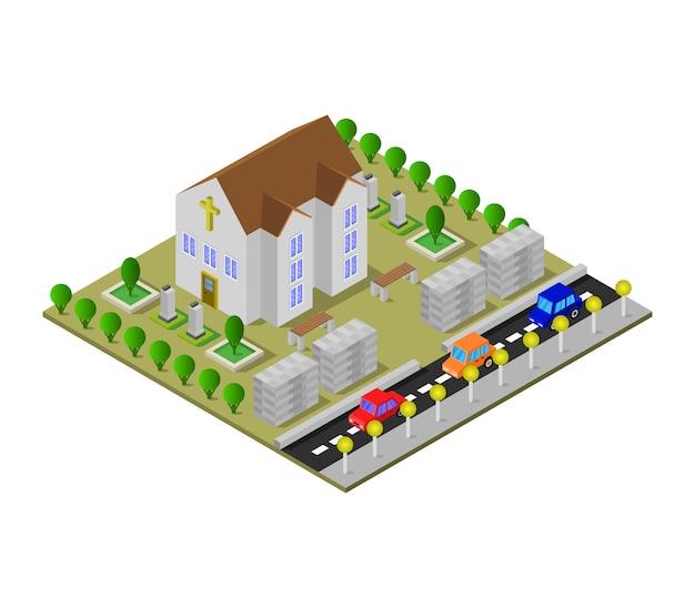 Iglesia isometrica