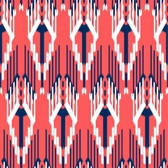 Ikat diseño de patrones sin fisuras