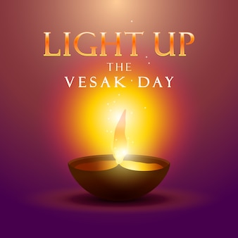 Ilumina el día vesak