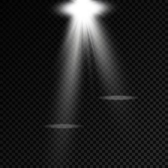 Iluminación de escenario proyectores proyector de escena efectos de luz iluminación blanca brillante con foco