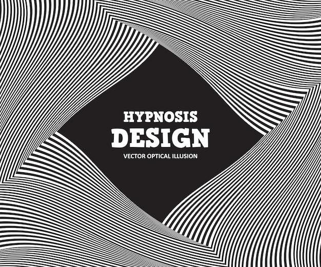 Ilusión óptica abstracta. fondo blanco y negro de rayas onduladas