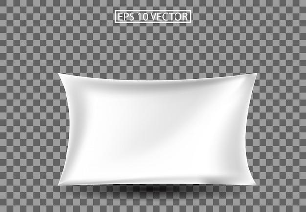 Ilustración 3d de almohada