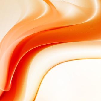 Ilustración abstracta de llamas de fuego