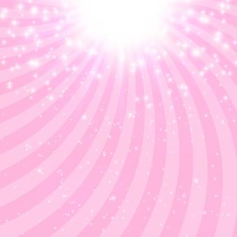 Ilustración abstracta del vector del fondo de la estrella brillante de la princesa. eps10