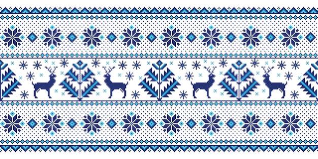 Ilustración de adorno popular de patrones sin fisuras