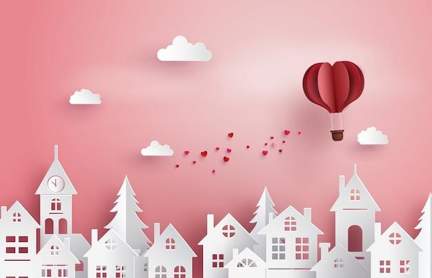 Ilustración del amor y el día de san valentín