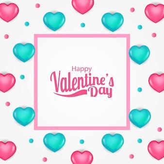 Ilustración amor romance día de san valentín
