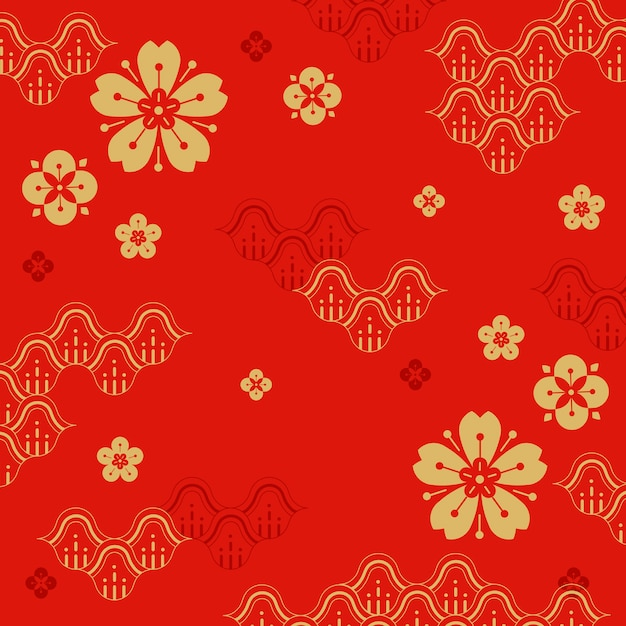 Ilustración de año nuevo chino