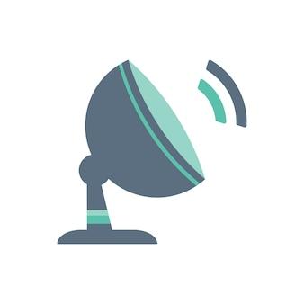 Ilustración de la antena de radio