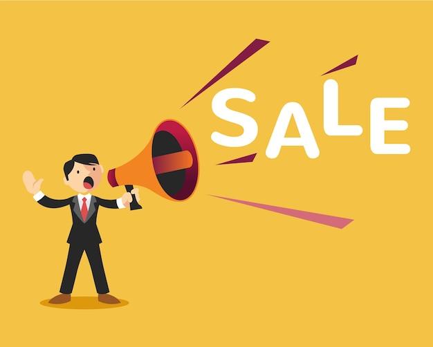 Ilustración de anuncio de venta