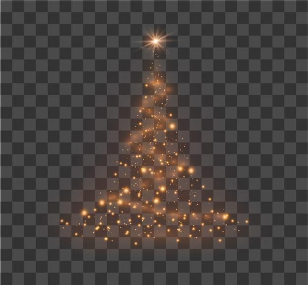Ilustración del árbol de navidad.