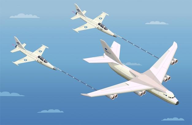 Ilustracion de aviones