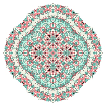 Ilustración de azulejos geométricos decorativos