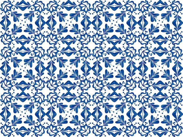 Ilustración de azulejos con textura patrón