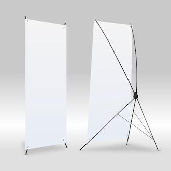 Ilustración de banners de soporte x