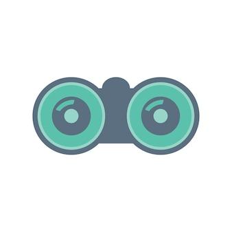 Ilustración de binocular