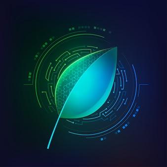 Ilustración de biología sintética