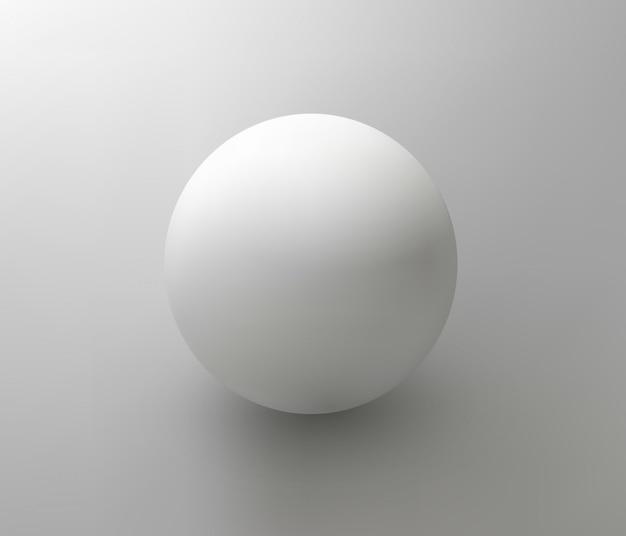 Ilustración de bola de plástico aislado