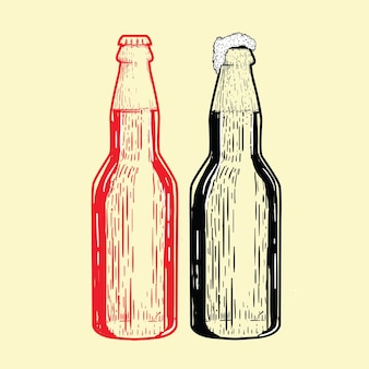 Ilustración de botella